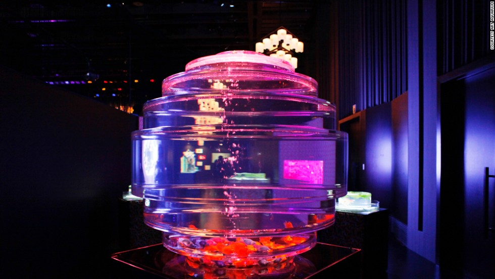 This year marks the third Art Aquarium. Last year, 200,000 people visited the exhibit over 39 days.