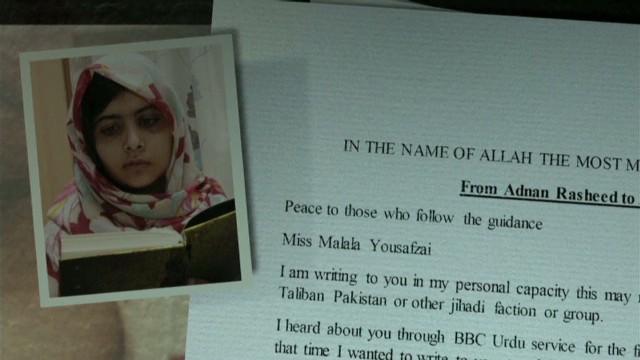 Taliban pens letter to Malala
