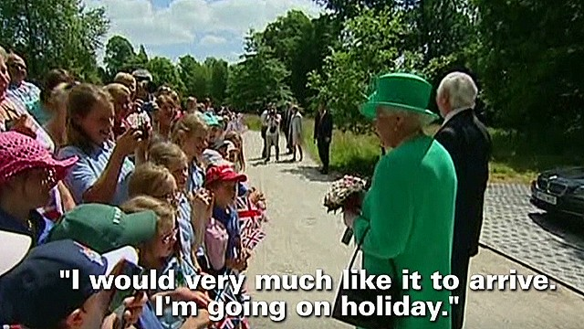 Queen: I want the baby to arrive already