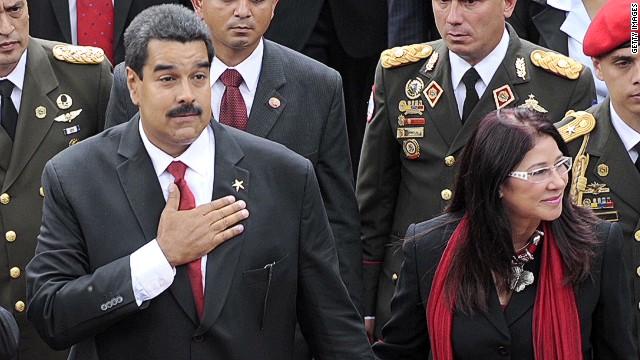 Nicolas Maduro marries