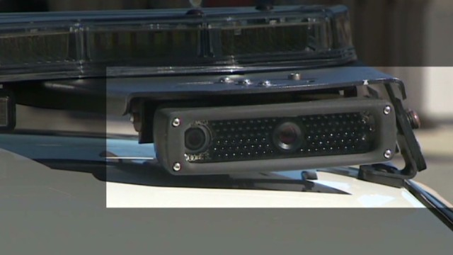 Police monitor license plates