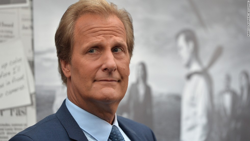 "Outstanding lead actor in a drama series: Jeff Daniels, ""The Newsroom"""