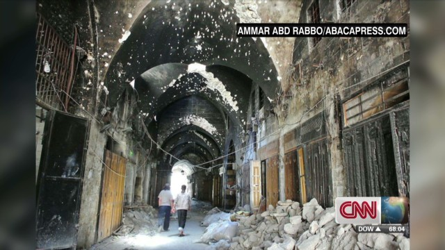 Syrian photographer documents destruction