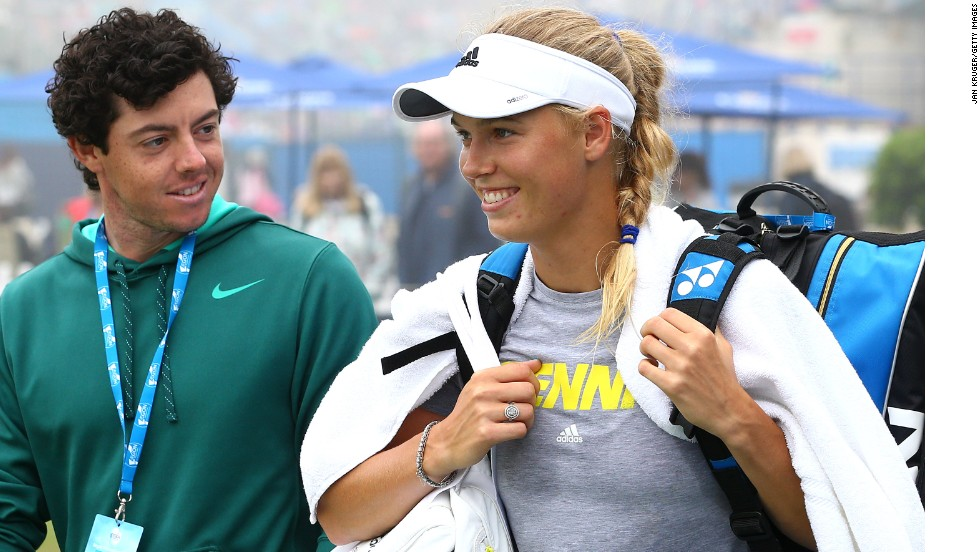 Rory McIlroy and Caroline Wozniacki cemented their relationship by getting engaged on New Year's Eve and will hope it will signal a return to form on the sporting front in 2014.