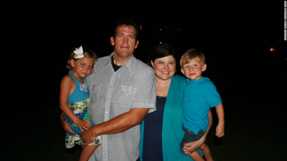Mac and Jessica, a school principal finishing her doctorate, have been married for going on 15 years. Mac is a stay-at-home dad raising their children, Libby, 5, and Matthew, 3.