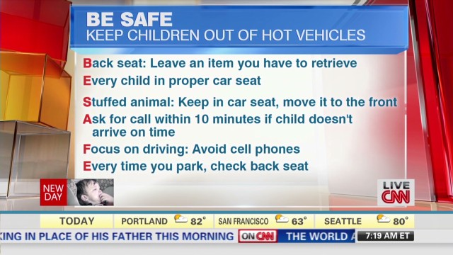 How hot cars can kill kids
