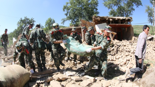 Deadly quake strikes northwest China