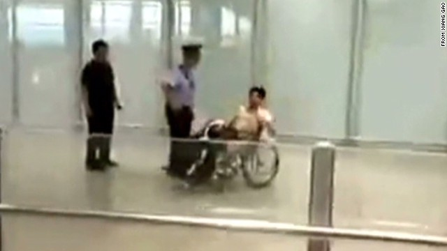 Wheelchair-bound man sets off explosion