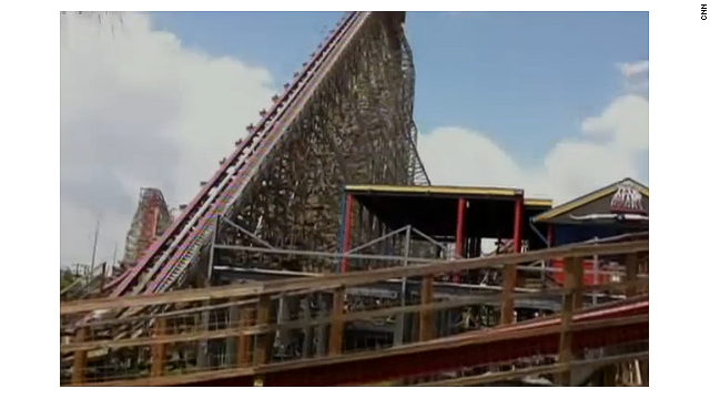 The Texas Giant coaster at Six Flags Over Texas was closed for almost two months.