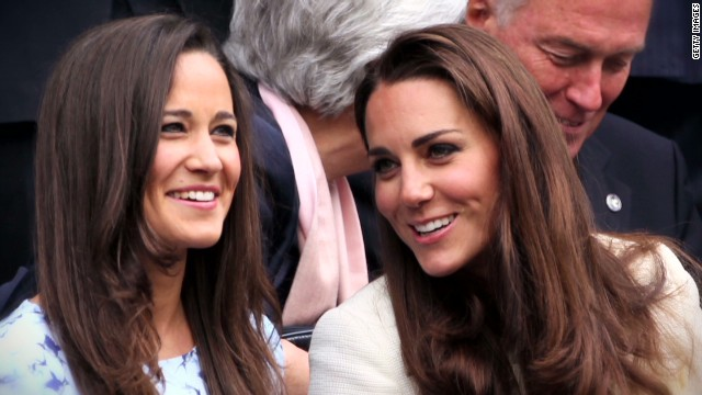 Royal baby's famous Aunt Pippa