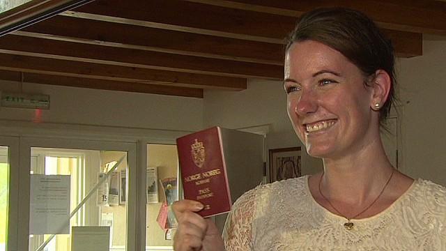 Norwegian woman pardoned, released