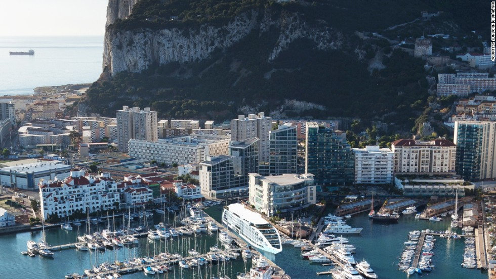 The five-star floating hotel, located at Gibraltar's Ocean Village Marina, will open it's doors to the public by the end of the year.
