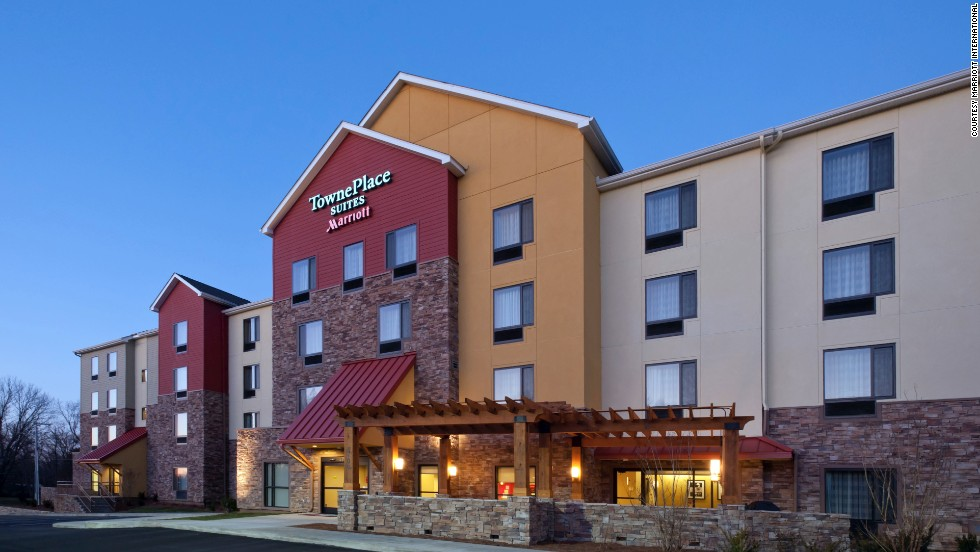 "The TownePlace Suites came in first place in the ""extended stay"" category. The Nashville Airport location, shown here, is located in Tennessee."