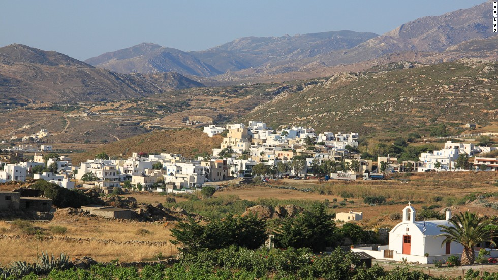 Sixth best island in the world, according to TripAdvisor, is Naxos, legendary home of Zeus.