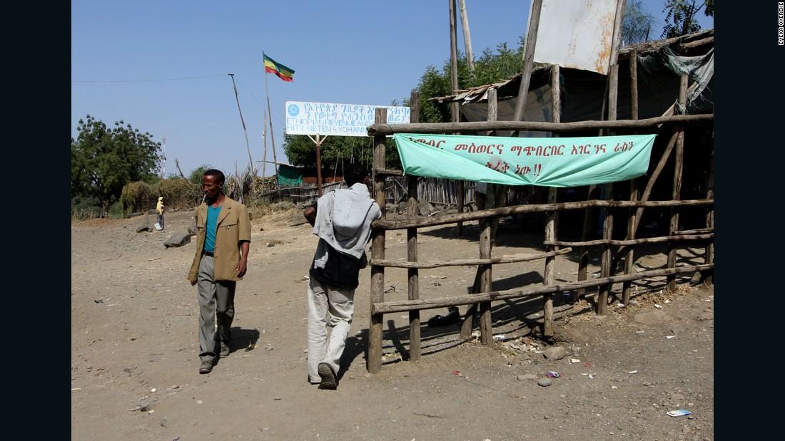 """""""Crossing the Lines"""" - Matema border, Ethiopia, 2011."""