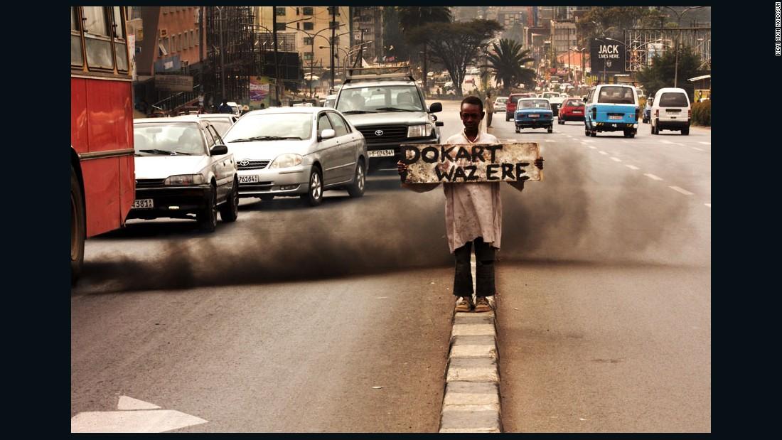 """Highway Piassa"" - Addis Ababa, Ethiopia, 2011."