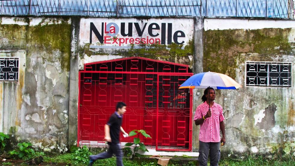 """""""La Nouvelle Expression"""" - Douala, Cameroon, 2012."""