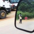 invisible borders Stop Sign, Mimkok, Cameroun