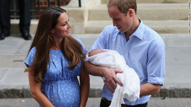 Big day for Britain's newest royal