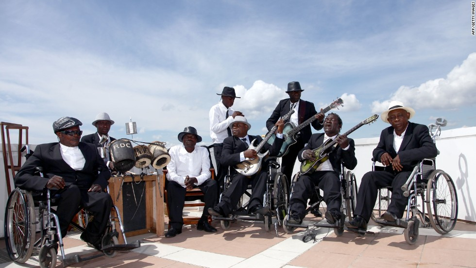 Benda Bilili is a documentary telling the story of Staff Benda Bilili -- a group of disabled Congolese musicians.
