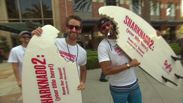 "Comic-Con: ""Sharknado 2"""