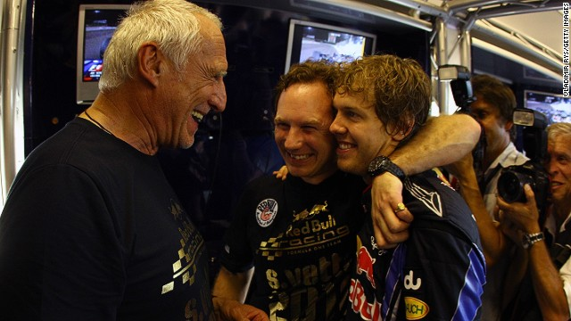 Red Bull can celebrate a home grand prix after Dietrich Mateschitz (left) strikes a deal for an Austrian GP.