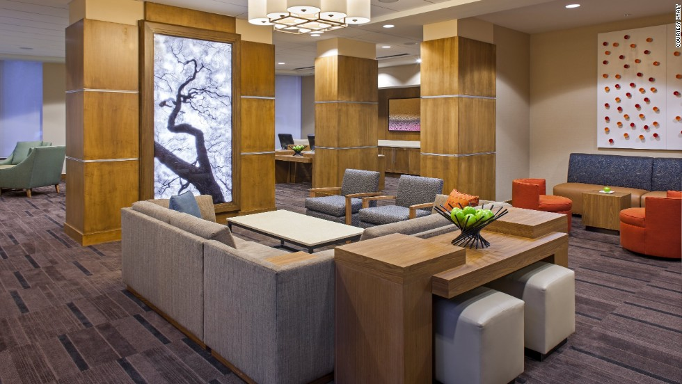 """Hyatt Place took top honors in the """"upscale"""" category. The New Orleans Convention Center property is shown here."""
