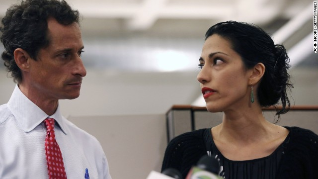 Abedin stands by Weiner amid scandal