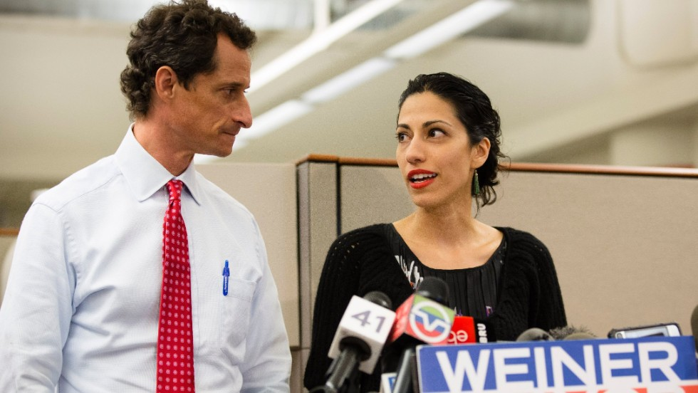 "Abedin added at one point that her husband had made ""horrible mistakes, both before he resigned from Congress, and after."""