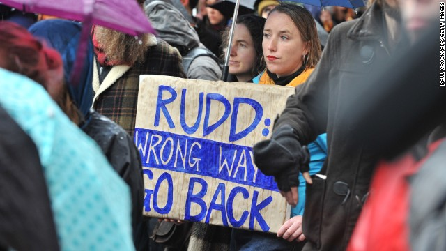 Australia debates asylum policy