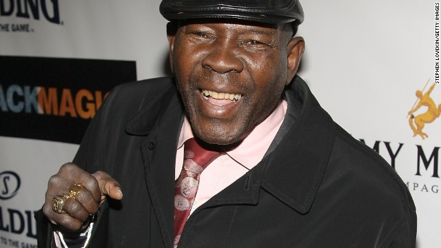 Former boxer Emile Griffith attends a show at The Apollo Theater in 2008 in New York City.