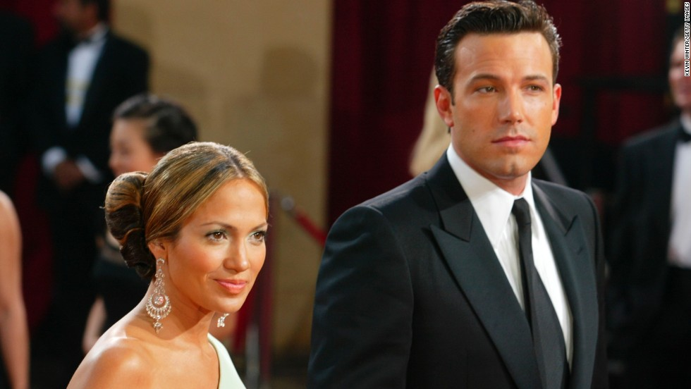 Remember when Lopez and Ben Affleck were engaged? The pair attended the Academy Awards at the Kodak Theater in Hollywood in 2003.