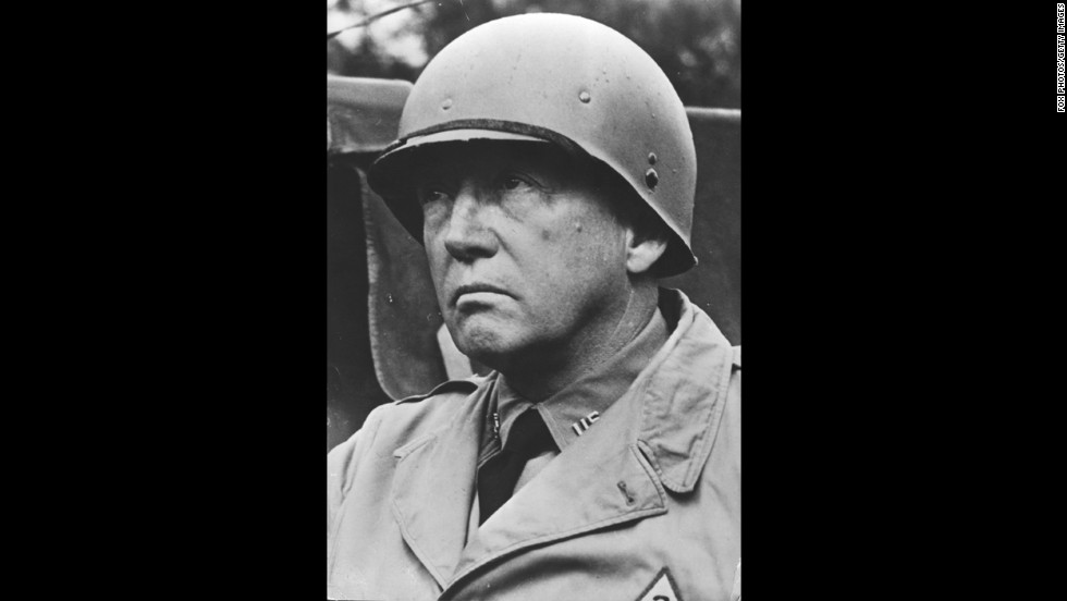 "George S. Patton: Known as ""Old Blood-and-Guts"" by his men, this World War II general is credited with commanding the phantom army based in southeast England that materialized onto the Normandy battlefield."