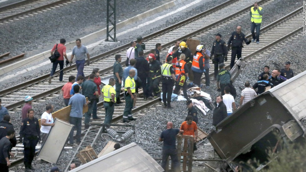 While it was unclear how fast the train was going at the time of the crash, it was capable of reaching up to 155 mph.