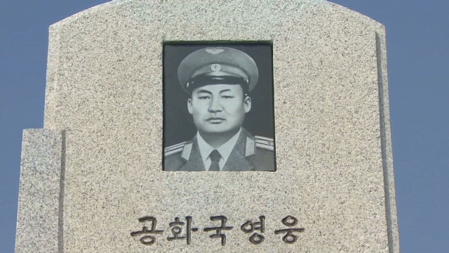 Rare look inside North Korean cemetery