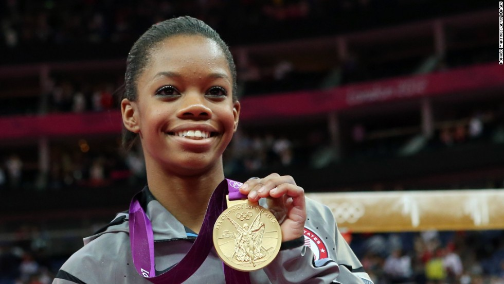 Gabby Douglas became the first African-American gymnast in Olympic history to win gold in the individual all-around event. She is also the first black woman to win the event.