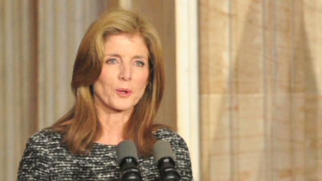 Obama nominates Caroline Kennedy
