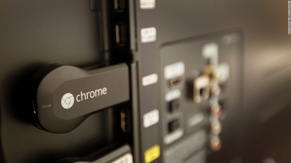 "<strong>Google Chromecast.</strong> Yes, it's basically a glorified thumb drive that fits in one of your HDTV's HDMI slots. But it <a href=""http://www.cnn.com/2013/07/25/tech/gaming-gadgets/google-chromecast-tv/ "">promises a great deal</a>. After plugging it into a TV, you can send the bigger screen videos over Wi-Fi from your smartphone or tablet. Moreover, it supports Netflix, Hulu Plus, Pandora, YouTube, Google Play and now HBO Go -- and it's cheap. As more people cut the cord, Chromecast may be their choice. ($35)"