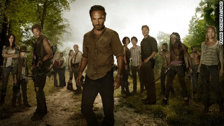 "The cast of ""The Walking Dead"" season 3."