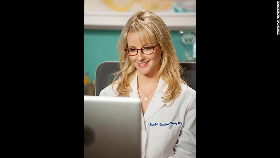 Melissa Rauch interpreta a Bernadette Rostenkowski-Wolowitz. Ella es una científica muy bien pagado que está casada con Howard.