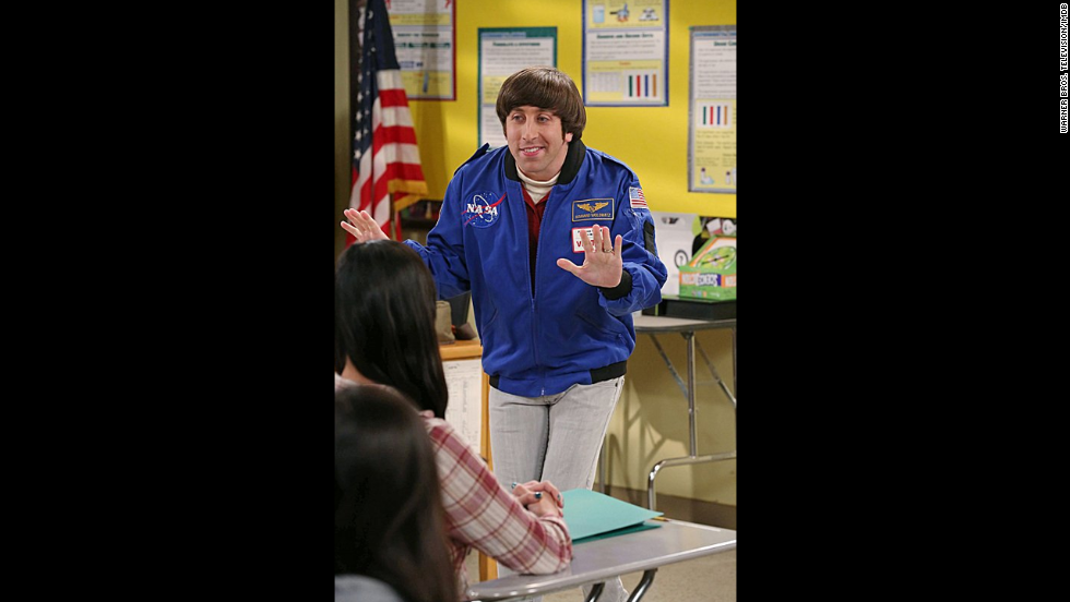 Simon Helberg plays Howard Wolowitz, an aerospace engineer who started out a bit awkward with women but these days is happily married.