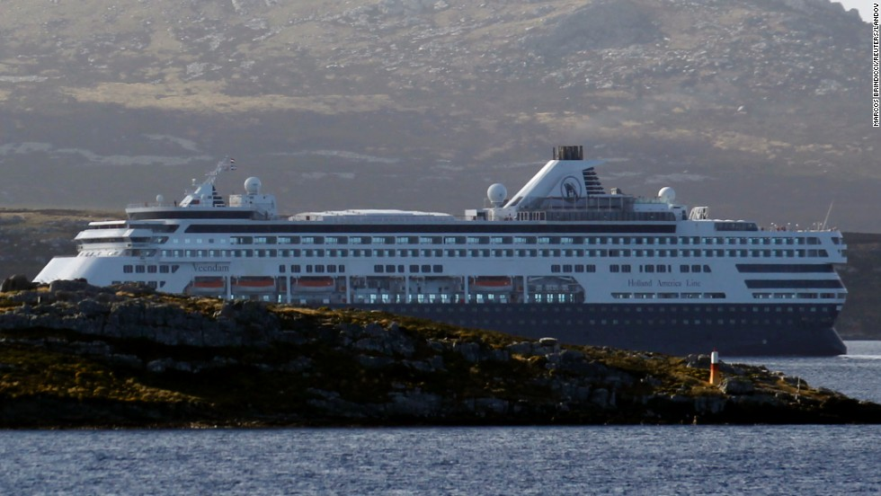 "During a surprise visit in August 2012, CDC inspectors found multiple sanitation violations on the <a href=""http://www.cnn.com/2012/09/25/travel/cdc-cruise-ship/index.html?iref=allsearch"">Holland America ship ms Veendam</a> (shown here in March 2012). The CDC found enough violations, including brown liquid dripping on clean dishes and a fly on the buffet, to give the Veendam a failing grade."