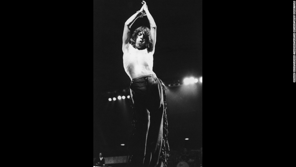 Mick Jagger has set the standard for rock star style since the '60s, and like any fashion icon, his taste is timeless. In celebration of his 70th birthday on Friday, we offer an ode to Jagger's wardrobe staple, on and off the stage: a nice tight pair of pants.