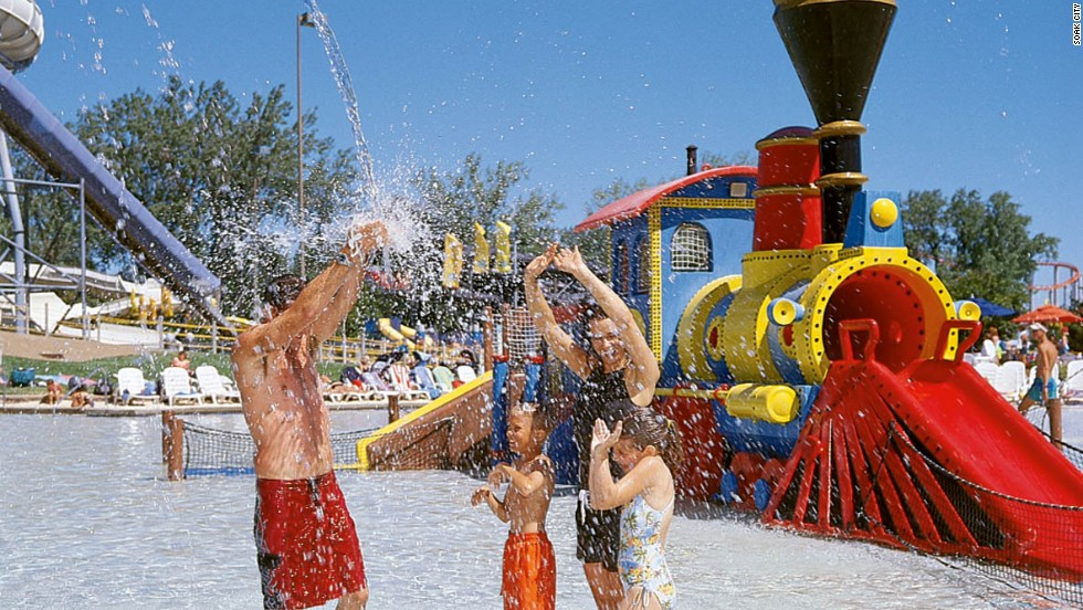 "Soak City also is home to Splash Zone, described by the park website as ""a multistory interactive play area with more than 100 different wet and wild water gadgets."" In 2012, 403,000 visitors passed through Soak City, according to the Themed Entertainment Association."