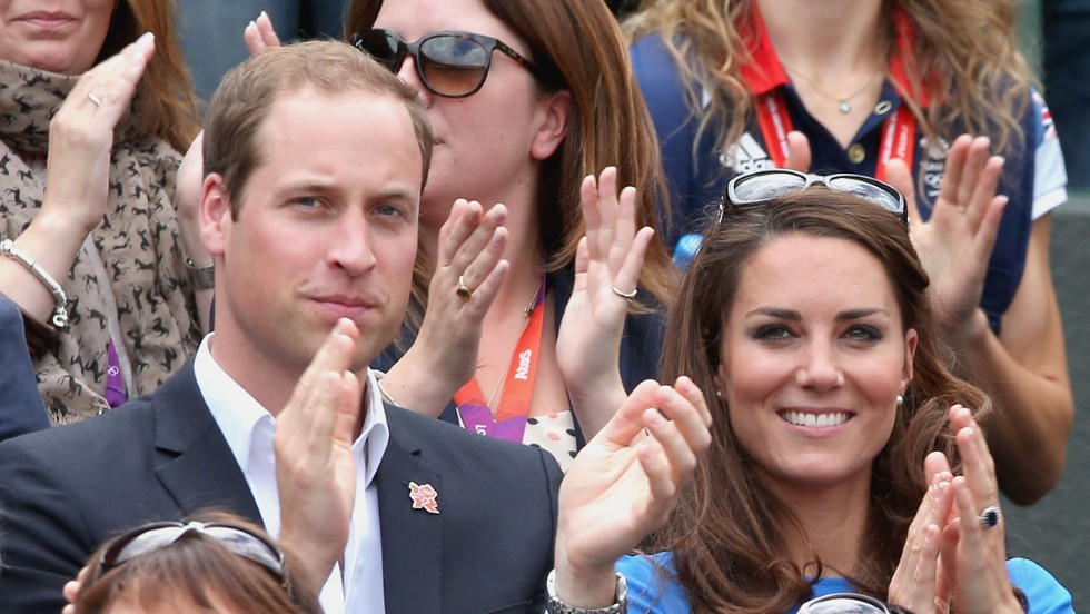 Prince William and his wife Kate Middleton took their place in the Royal Box at Wimbledon last year.