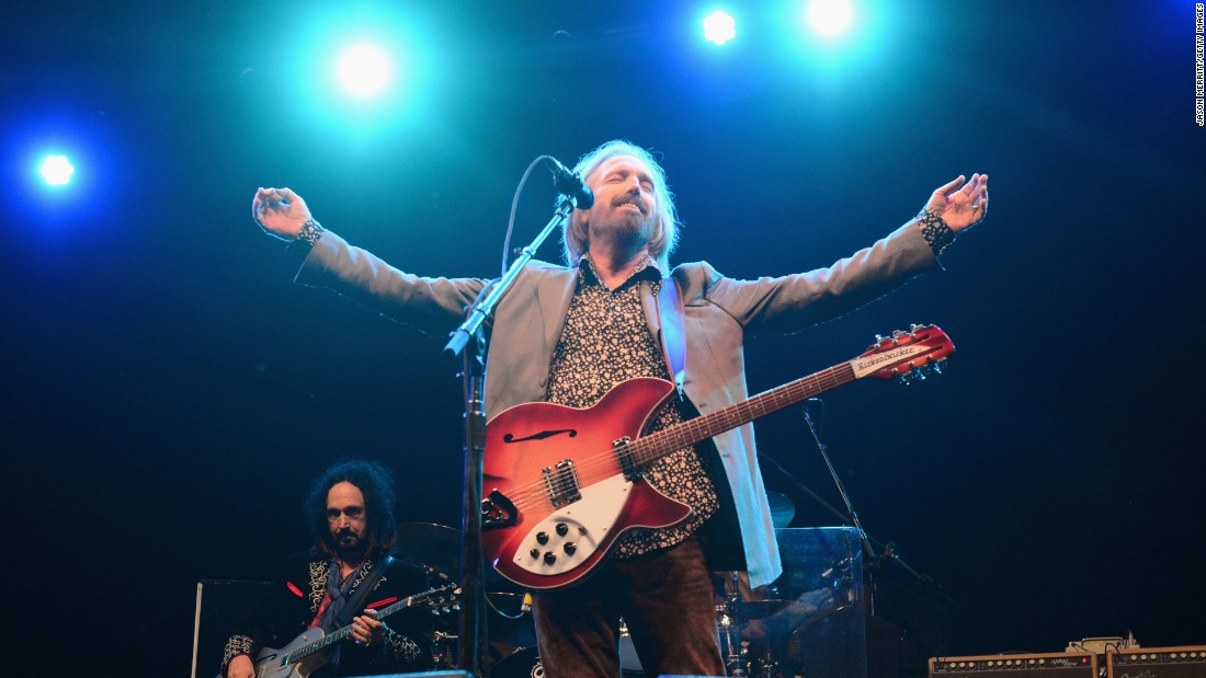 Tom Petty died of an accidental overdose