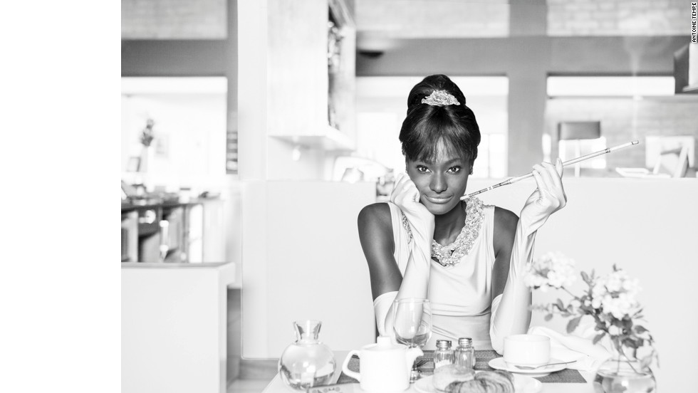"""Breakfast At Onomo's,"" by Antoine Tempe, a French-born American photographer with years of working experience in West Africa."