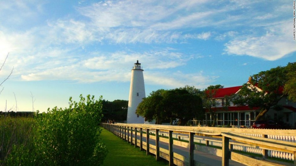 Ocracoke Island is home to the second-oldest operating lighthouse in the United States.