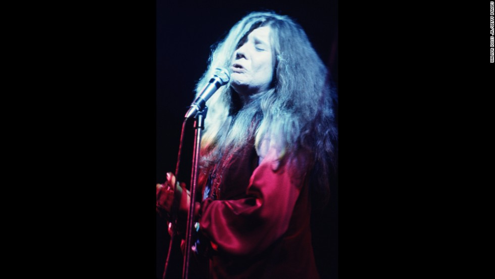 Janis Joplin performs her last concert with her Kozmic Blues Band on December 19, 1969.