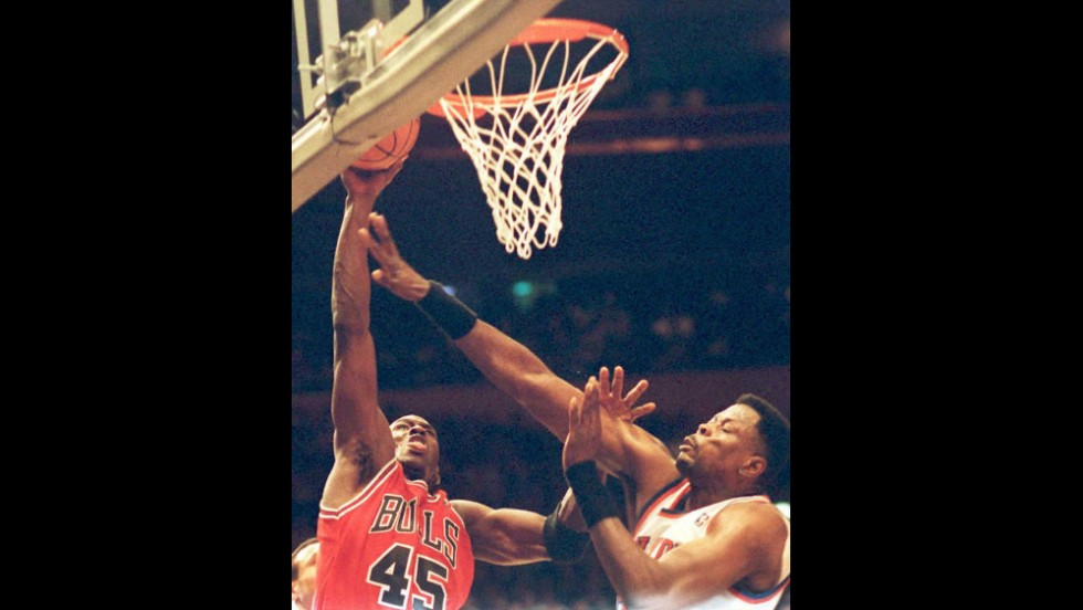 Michael Jordan scored a whopping 55 points against the Knicks in March 1995.